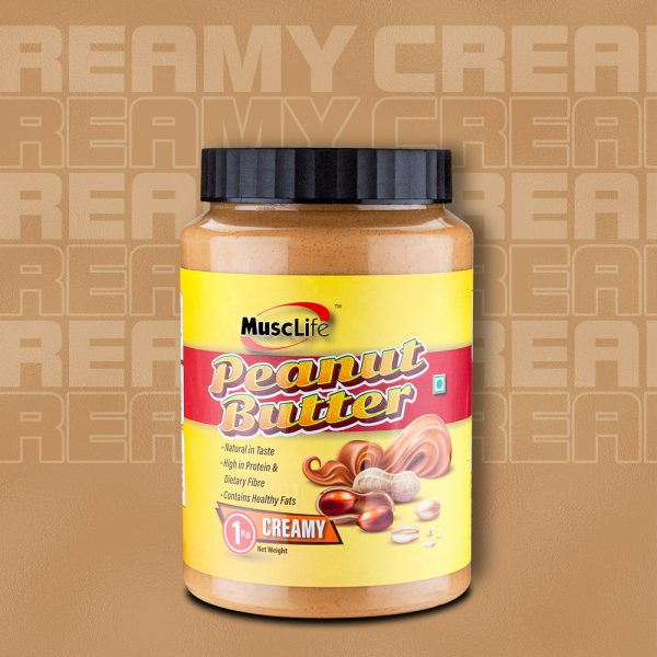 Musclife Creamy Peanut Butter