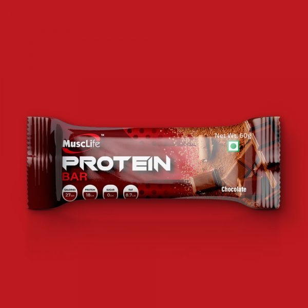 Musclife Chocolate Protein Bar