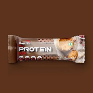 Musclife Peanut Butter Protein Bar