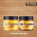 Musclife Peanut Butter Combo (Crunchy 340gm & Chocolate 340gm)