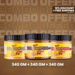 Musclife Peanut Butter Combo (Creamy 340gm + Chocolate 340gm + Crunchy 340gm)